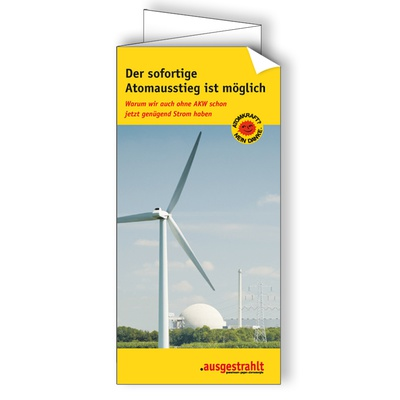 Flyer: Sofortausstieg
