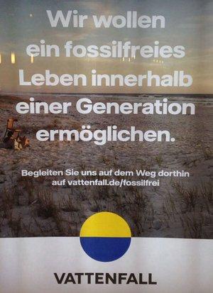 Vattenfall Werbung