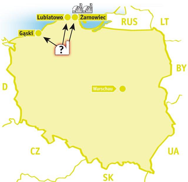 Atomkraftwerke Deutschland Karte.Atomkraft In Polen Ausgestrahlt De