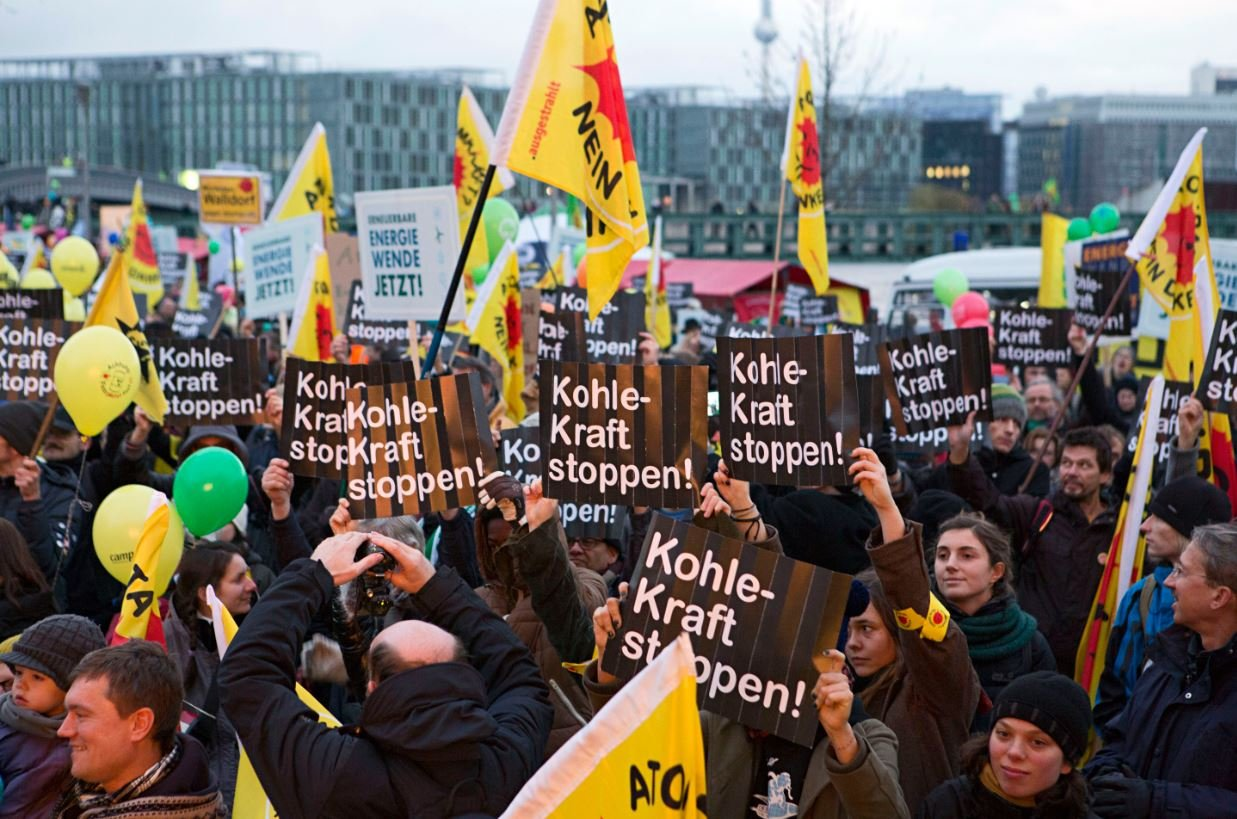 Energiewende-Demo in Berlin 2013