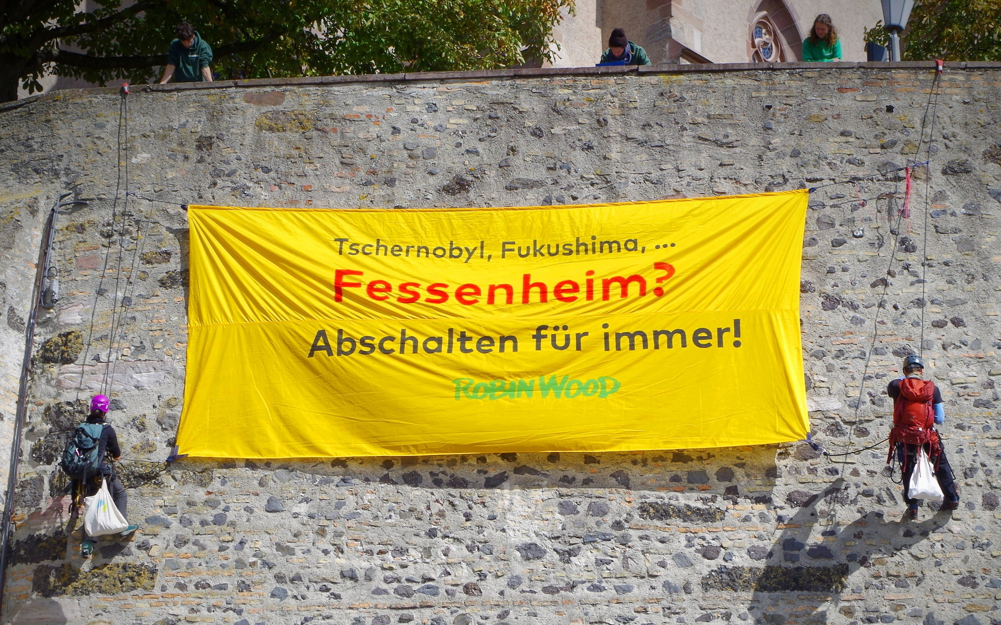 Protestaktion am 17.9.2017 in Breisach